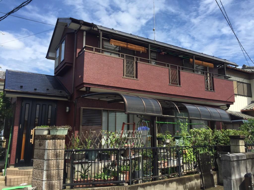 熊谷市 K様邸 外壁 屋根塗装工事