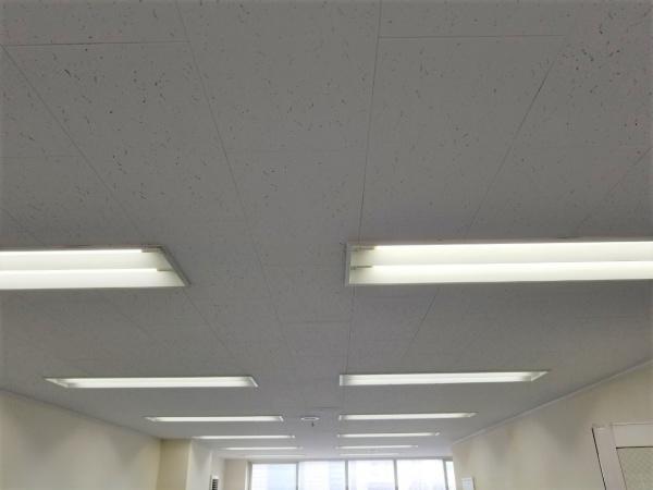 中央区日本橋 S・H町ビル4F 天井塗装工事