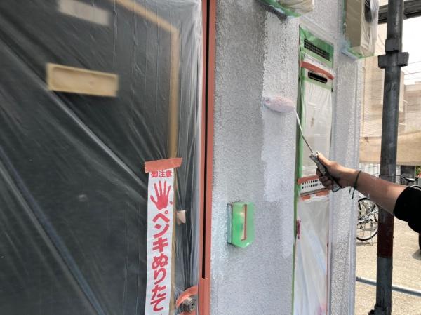 国立市 V・K国立アパート 外壁屋根塗装工事