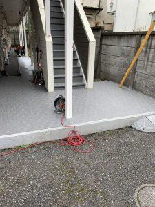 三鷹市 K・Bアパート 共用部改修工事
