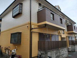 所沢市 S・V E棟 外壁塗装・サイディング工事