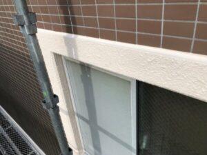 東京都東大和市 San・IV モルタル帯塗装工事