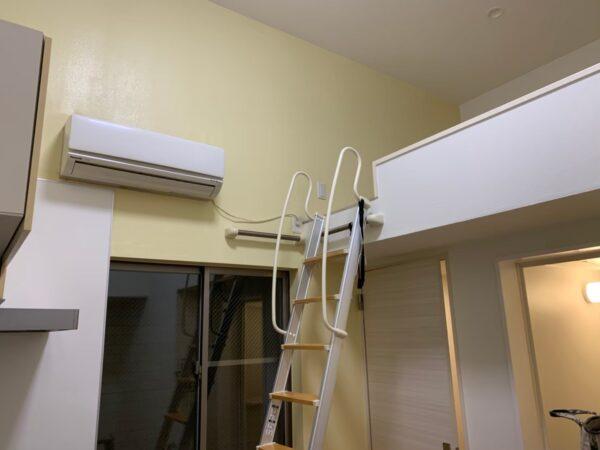 東京都荒川区 P・A熊野前201号室 内部塗装工事