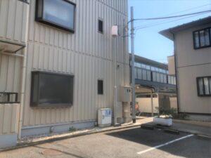 東京都国立市 F・清鶴 街灯塗装工事