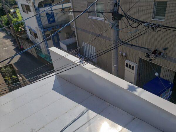 東京都三鷹市 Sハウス 笠木板金工事