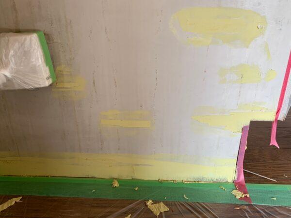 東京都新宿区 F中落合201号室 内部塗装工事
